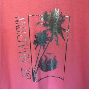 VTG 1987 St. Maarten destination T-shirt. Size M